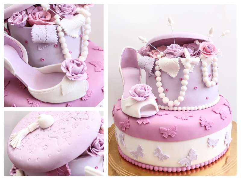 shoe-cake-collage